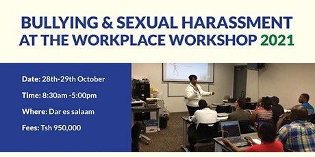 Workplace Harassment and Bullying Training tickets