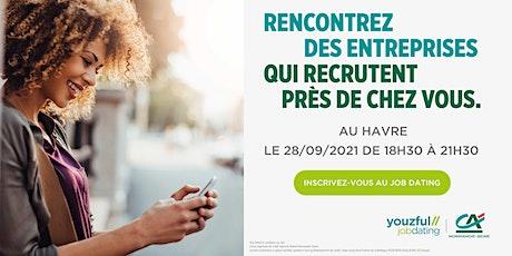 Job Dating au Havre : décrochez un emploi ! billets