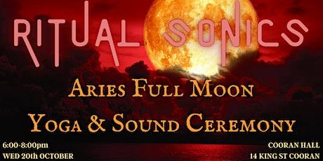 Aries Full Moon Yoga & Sound Ceremony tickets