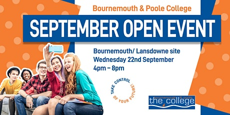 September College Open Event 2021- Bournemouth tickets