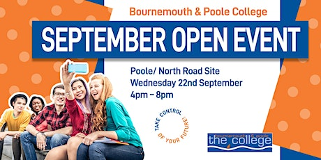 September College Open Event 2021 - Poole tickets