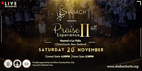Shabach Arts Concert 2021 tickets