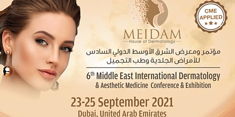 6th Middle East International Dermatology & Aesthetic Medicine Conf & Exhib tickets