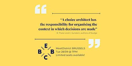 EBBC Brussels - Nudge (R. Thaler) tickets