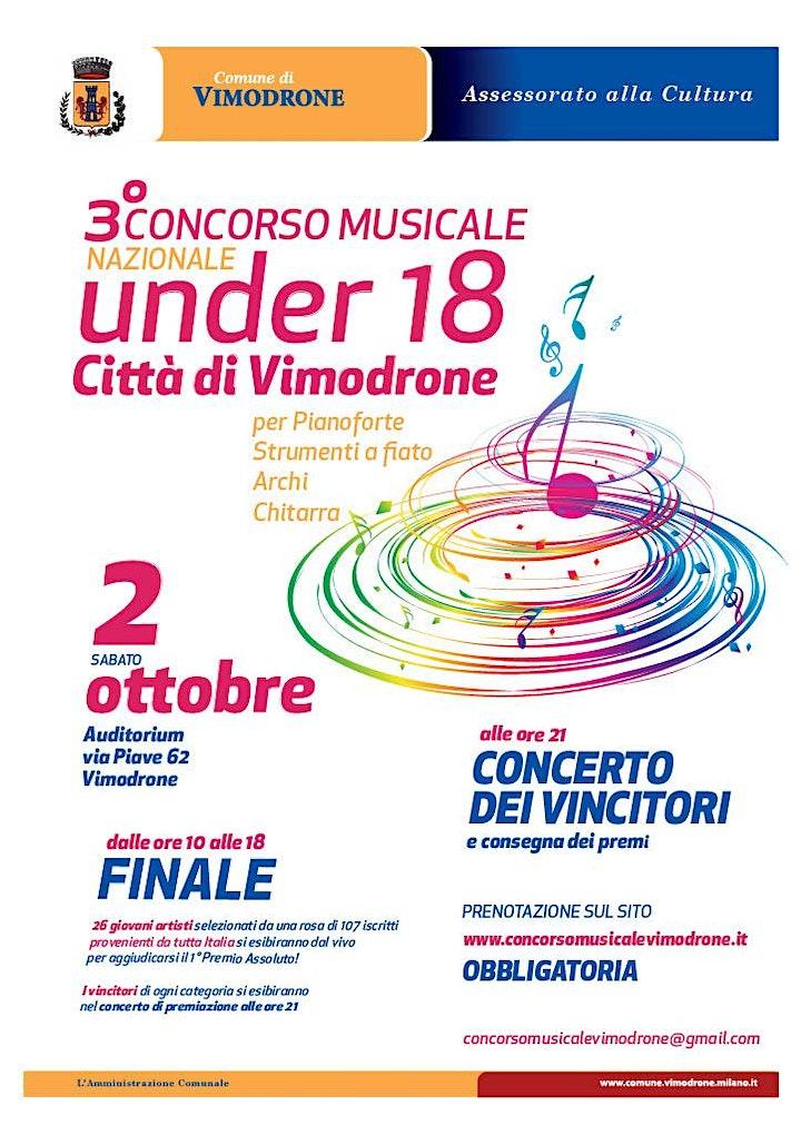 Immagine Concerto dei Vincitori