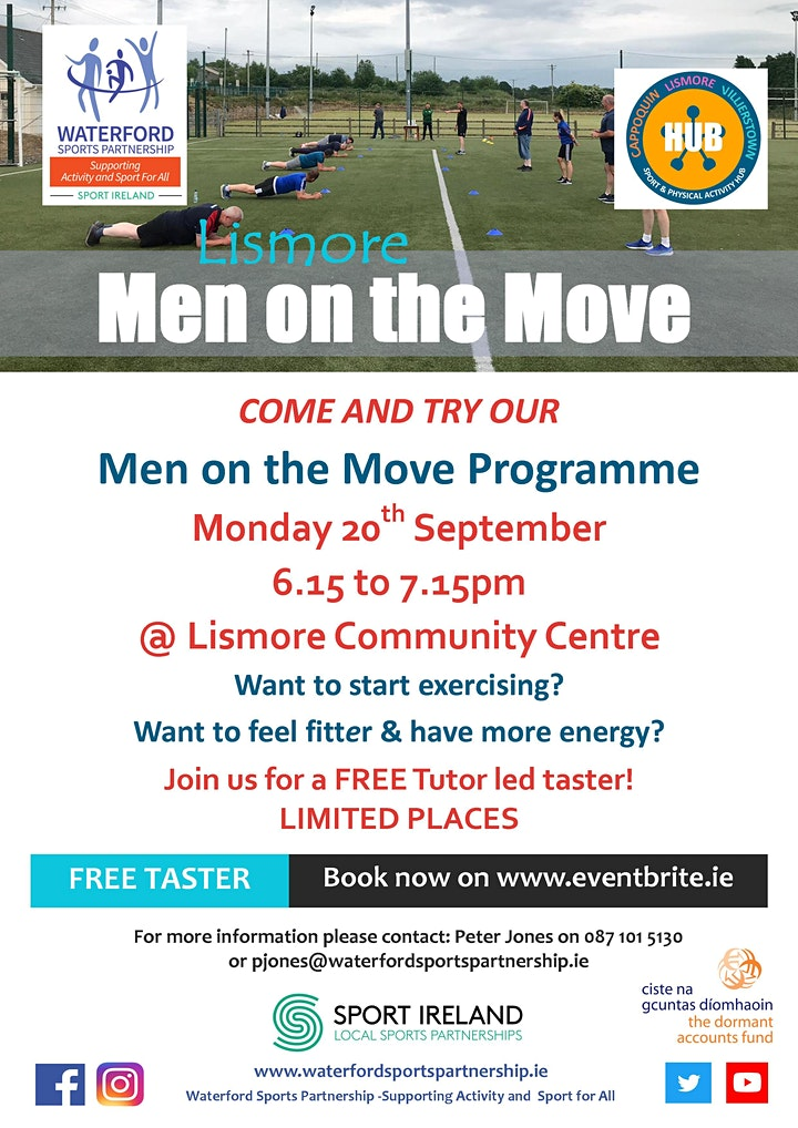 Come and Try It -  Men on the Move Lismore image