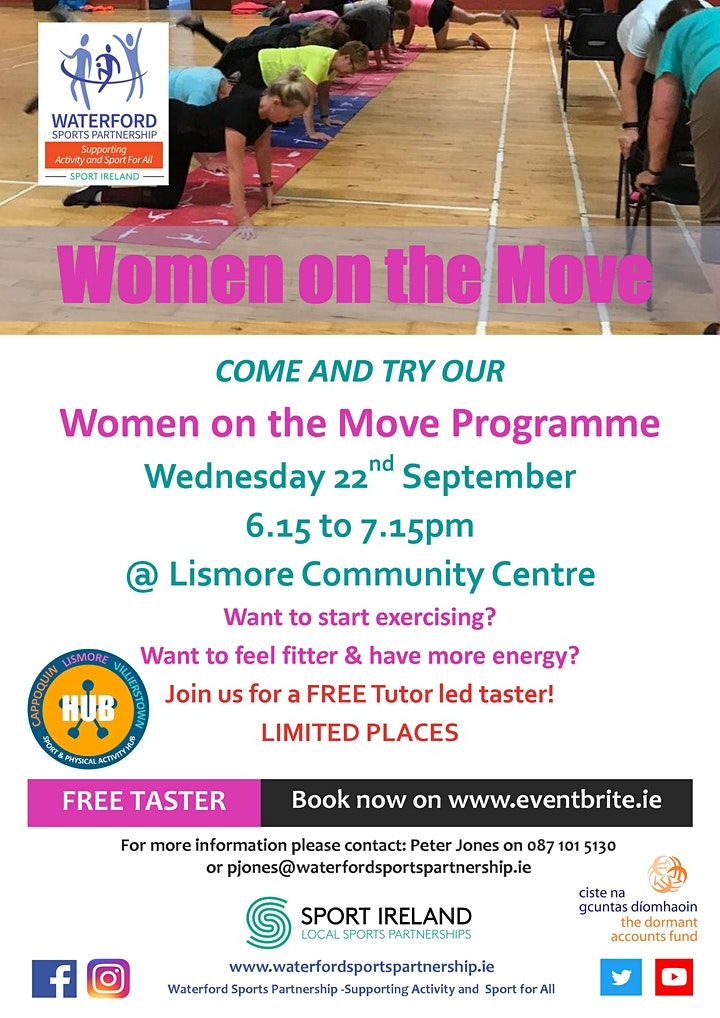 Come and Try It -  Women on the Move Lismore image