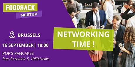 FoodHack Brussels Drinks Networking Event - September 2021 tickets