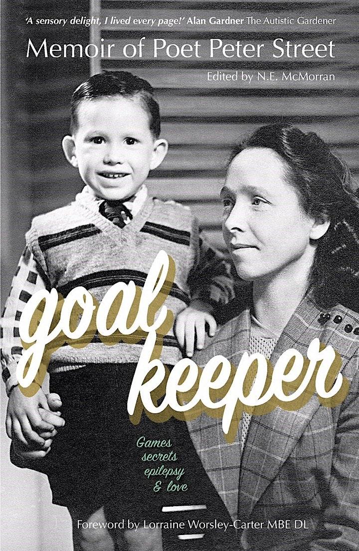 Goalkeeper:  Memoir of Poet Peter Street Book Launch image