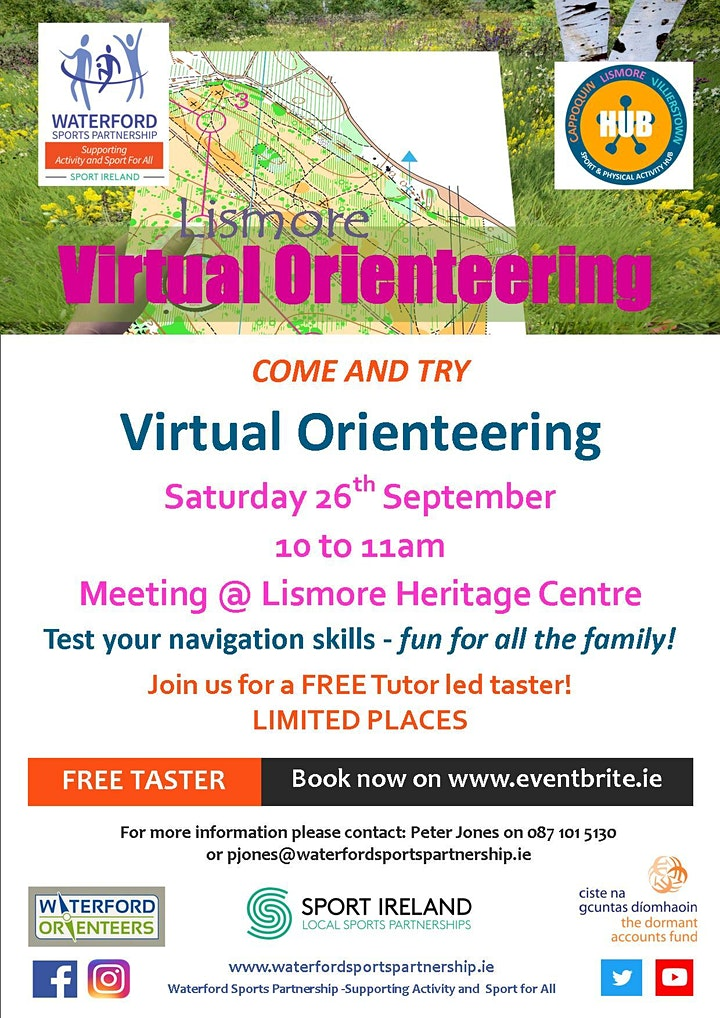 Come & Try Virtual Orienteering for the family image