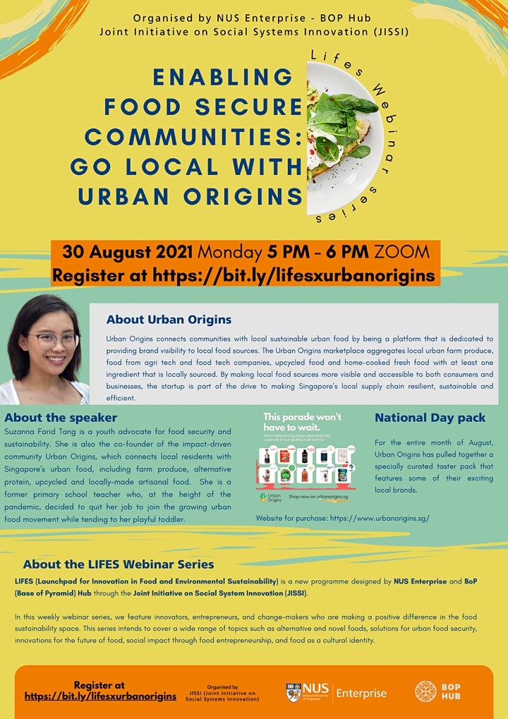 Enabling  food secure communities: Go local with Urban Origins image