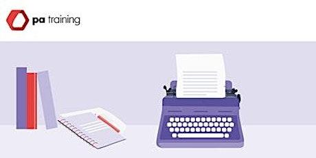 Better Business Writing Skills tickets