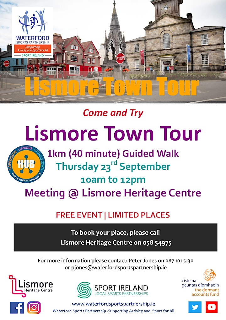 Come & Try Lismore Town guided walk image
