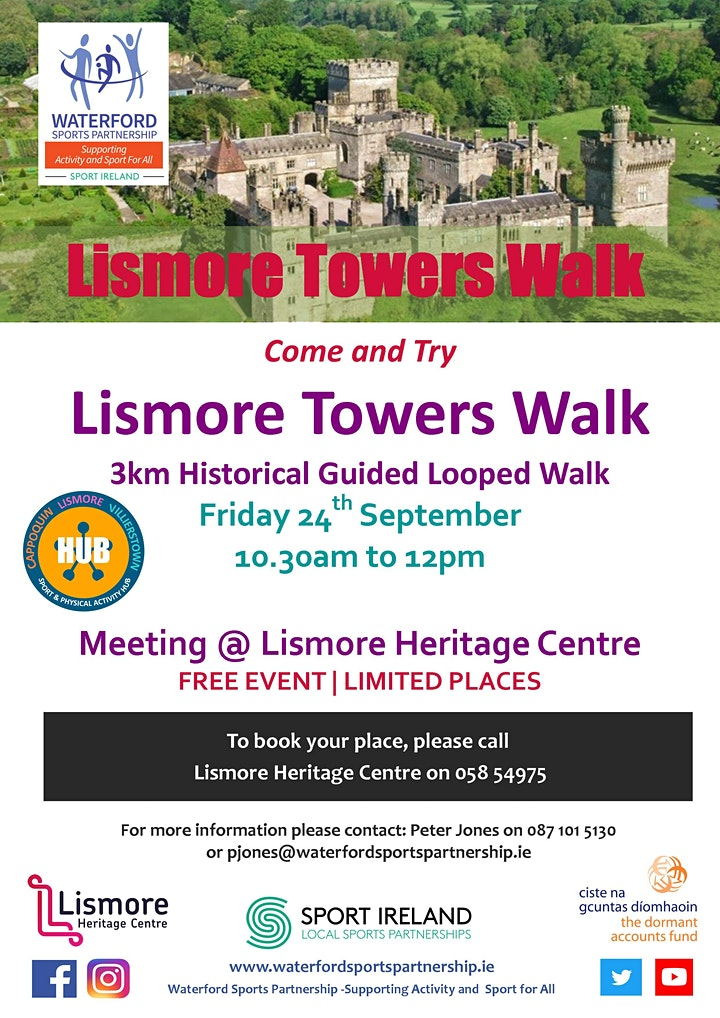 Come & Try Lismore Towers guided walk image