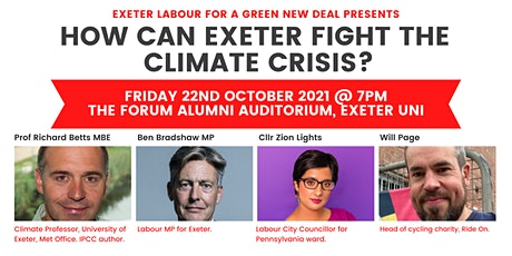 How can Exeter fight the Climate Crisis? tickets
