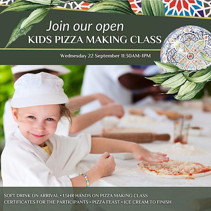 Kids Open Pizza Masterclass image