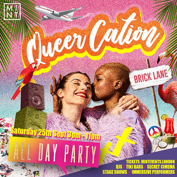 QueerCation: The All Day Tropical Party Pop-Up image