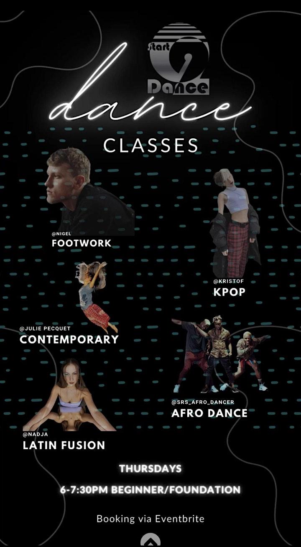 Start2Dance - Open Class HH - Beginner/Foundation: Bild