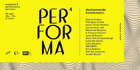 Performa 4 - beeldend & performance parcours tickets