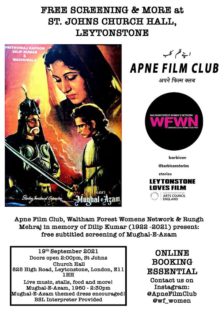 Apne Film Club  & WF Womens Network present: Mughal-E-Azam (1960) image