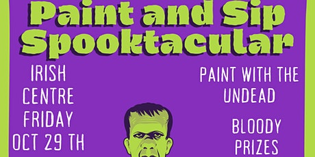 Paint and Sip Halloween Party Irish Centre Newcastle tickets