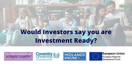 Are You Investment Ready?  - A Programme for Startups tickets