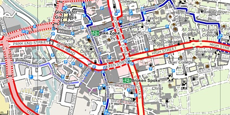 Mapping: A Force for Change - Online talk - Celebration of Cycling 2021 tickets