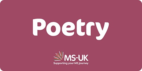 MS-UK Introduction to poetry writing - Fri 24 Sep tickets