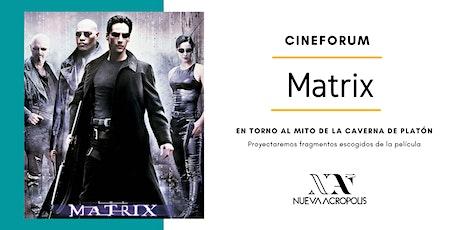 Cineforum: Matrix entradas