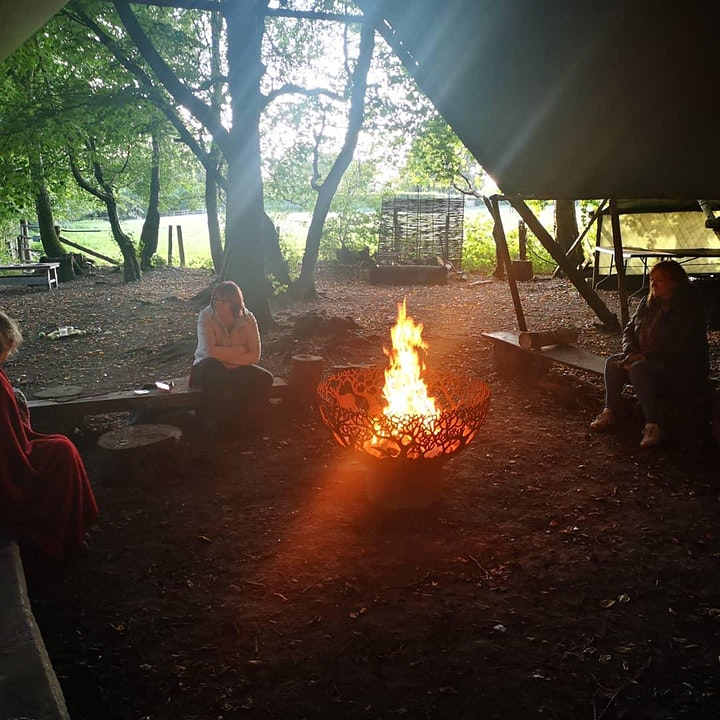 Mabon Meditation Magic in the Woods image