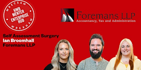 Self Assessment Surgery: Foremans' LLP (In Person Event) tickets