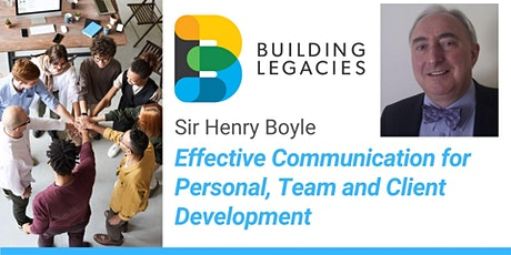Effective Communication for Personal, Team and Client Development tickets
