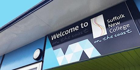 SNC Taster Events - On The Coast  Halesworth Campus 2021/2022 tickets