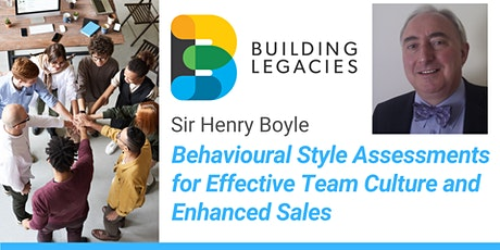 Behavioural Style Assessments for Effective Team Culture and Enhanced Sales tickets