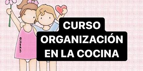CURSO ORGANIZACION EN LA COCINA: VIVO + GRABACION entradas
