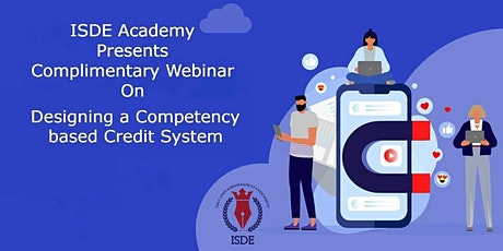 Designing a Competency based Credit System tickets