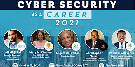 Cyber Security as a Career 2021 tickets