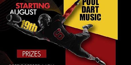 Fantasy Football Comp Presents Weekly 50/50 Live Fantasy Draft tickets