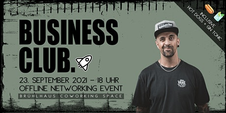 Business Club - Networking Event billets