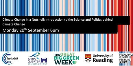 Introduction to the Science and Politics behind Climate Change tickets