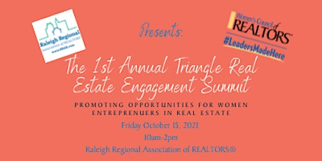 The 1st Annual Triangle  Real Estate Engagement Summit tickets