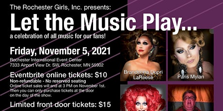 Let the Music Play...a celebration of all music for our fans! tickets