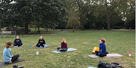 Yoga in Burgess Park tickets