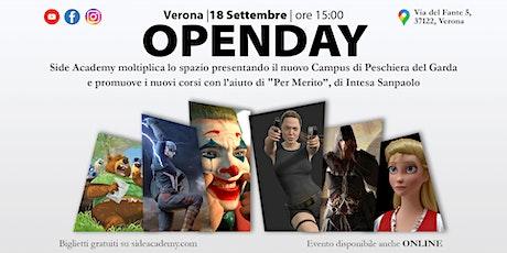 OpenDay Side Academy - 18 Settembre 2021 biglietti