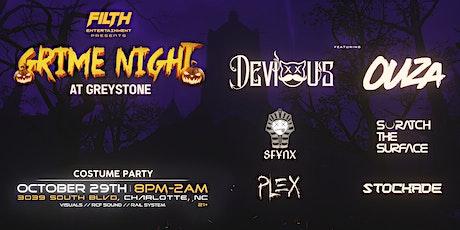 Grime Night   Halloween Edition: Devious & Ouza tickets