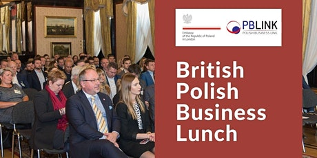 British-Polish Business Insights Lunch 20.10.21 tickets