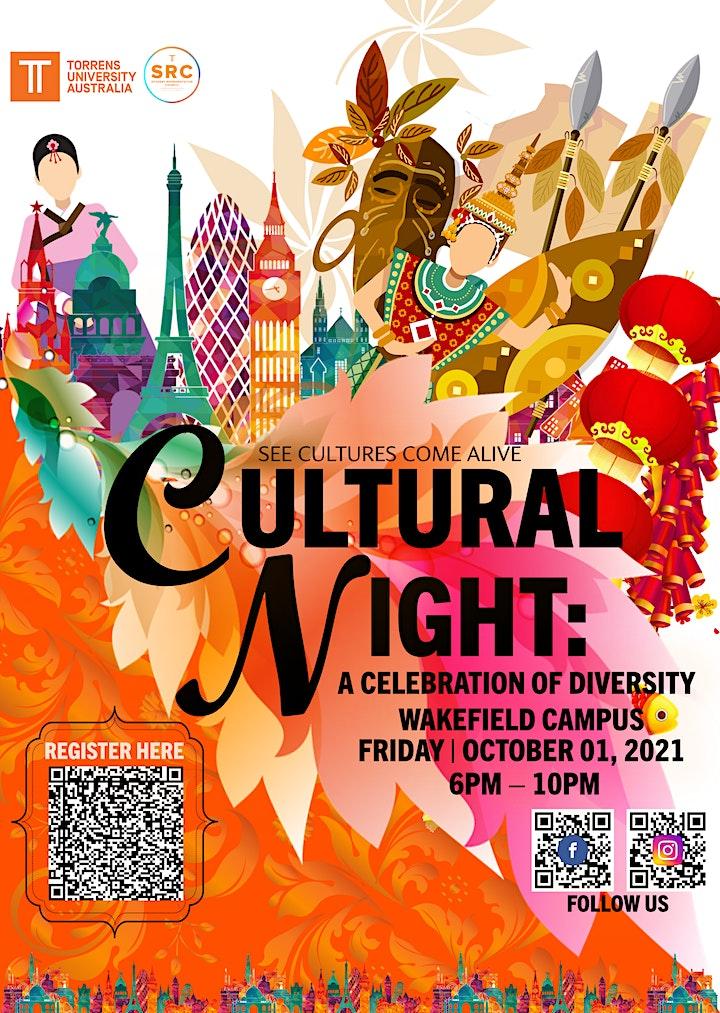CULTURAL NIGHT 2021 - A Celebration of Diversity image