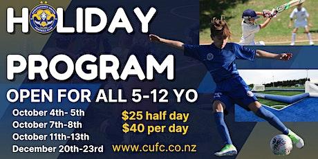 Christchurch United Multisport School Holiday Program tickets
