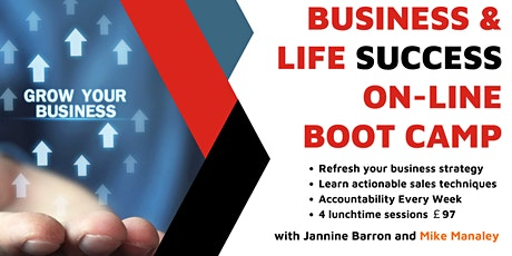 The Business & Life Success Online Boot-Camp tickets