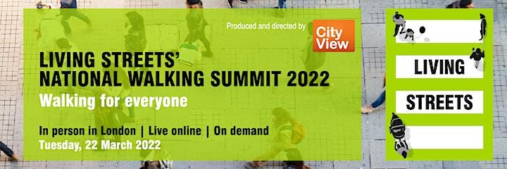 Living Streets' National Walking Summit 2022 image